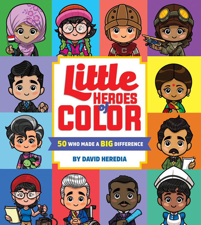 Little Heros Of Color - English Edition