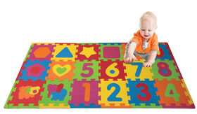 Animals & Number Puzzle Playmat