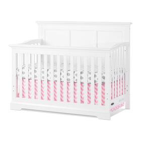Lit de bébé Convertible 4-en-1 Kelsey de Child Craft - Blanc.