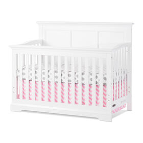 Child Craft Kelsey 4-in-1 Convertible Crib - Matte White