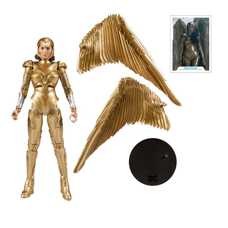 Wonder Woman Gold Armor: Wonder Woman 1984