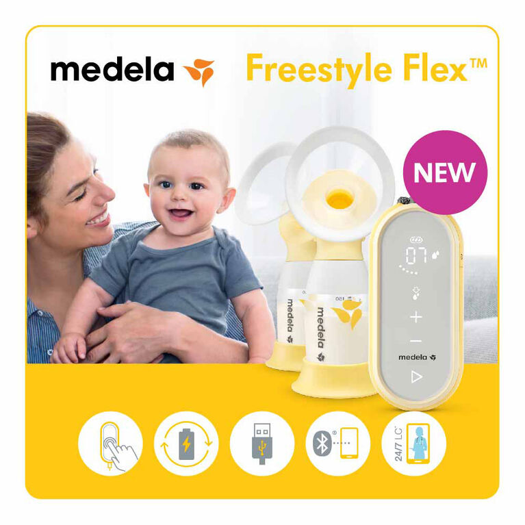 Freestyle Flex 2-Phase Double Electric Breast Pump