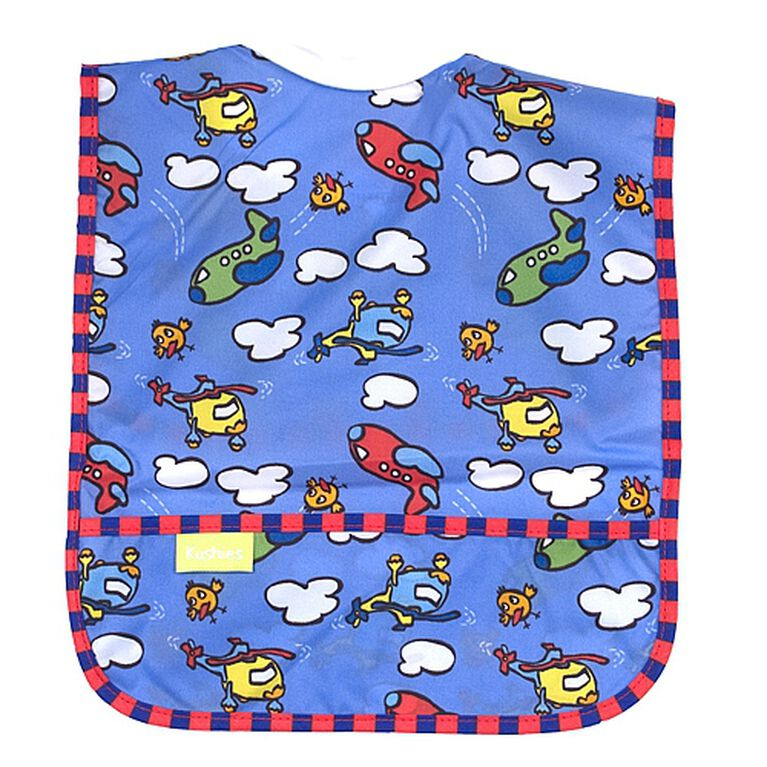 Kushies Ribneck Waterproof Bib - Infant - Assorted Prints