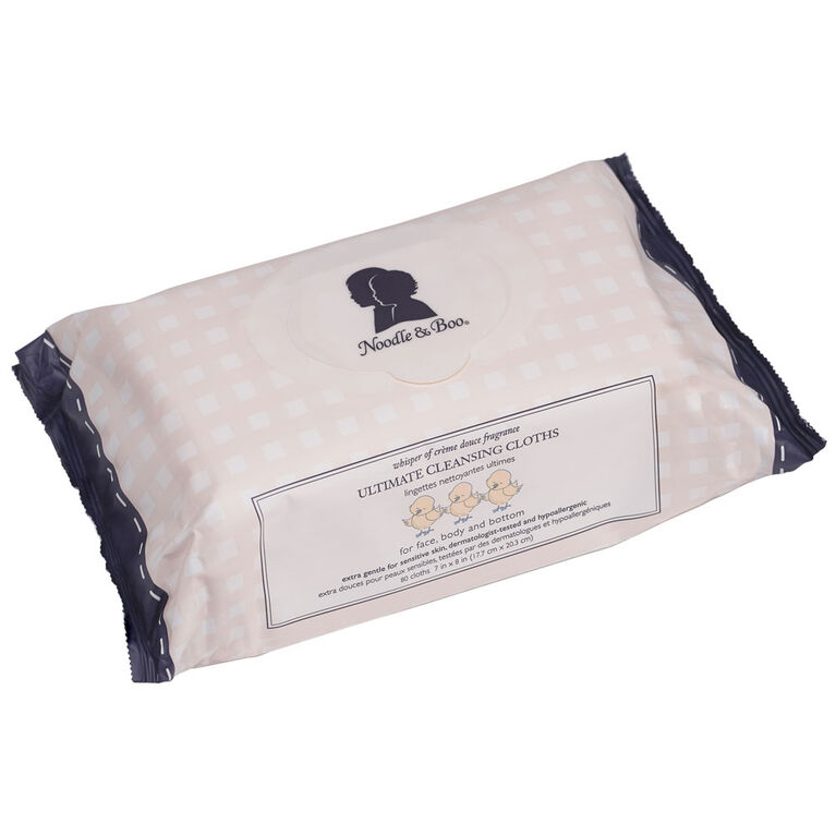 Noodle & Boo Ultimate Cleansing Cloths 80 count.
