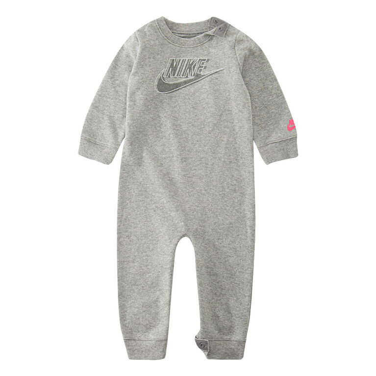 Nike Coverall - Grey, 6 Months
