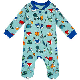 earth by art & eden - Cole Coverall Blue - Dream Blue, 9 Months