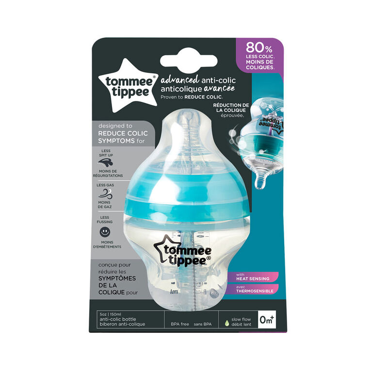 Tommee Tippee Advanced Anti-Colic Bottle, 5 oz.