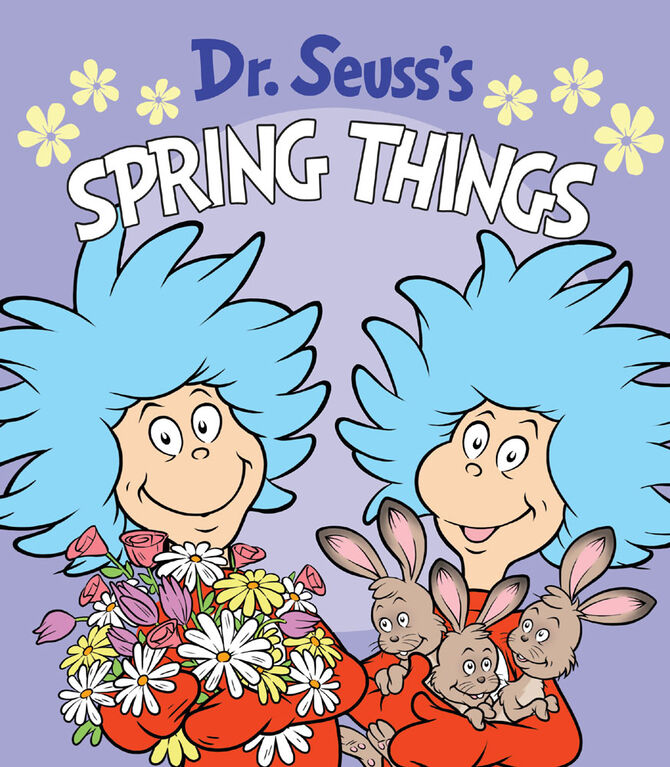 Dr. Seuss's Spring Things - English Edition