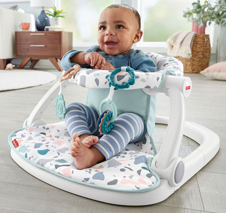 Fisher-Price Sit-Me-Up Floor Seat Pacific Pebble Infant Chair