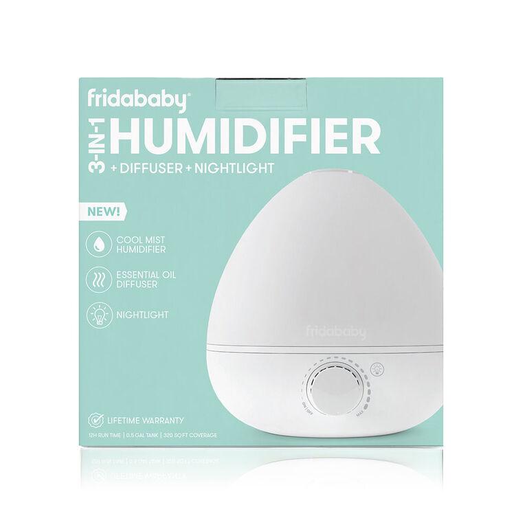 Fridababy - BreatheFrida 3-in-1 Humidifier Diffuser Nightlight