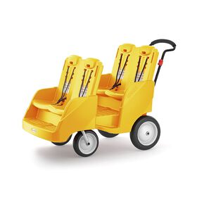 Foundations Gaggle 4 Multi-Passenger Buggy;Yellow