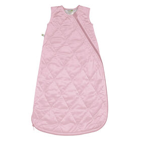 Perlimpinpin - Velour sleep bag - Pink 18-36