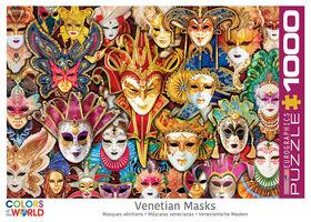 Eurographics Venice Carnival Masks 1000 Piece Puzzle