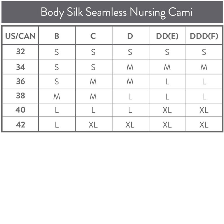 Bravado Body Silk Seamless Nursing Cami - White Medium