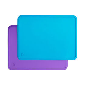Spotless Silicone Placemats 2-Pack