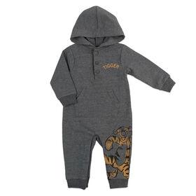 Disney Tigger Jumpsuit - Grey, 3 Months