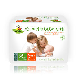 Bio Babby Eco Diapers - MINI (6 x 36 ea)