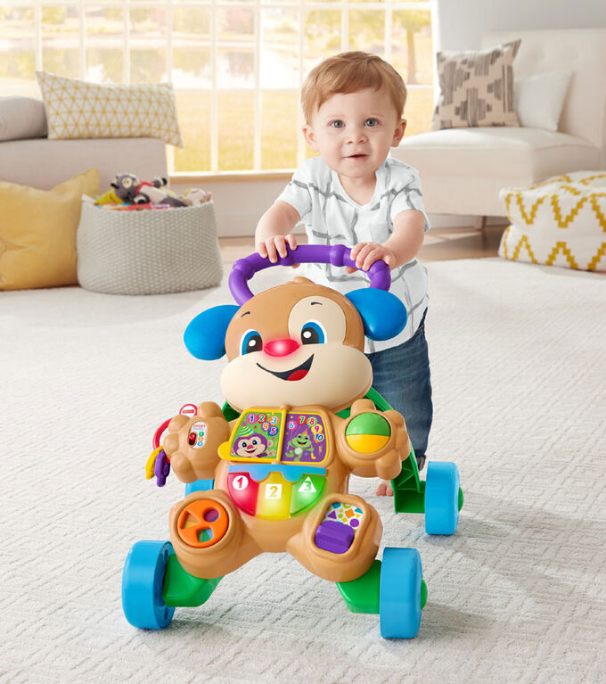 Fisher-Price Smart Stages Puppy Walker Bilingual Edition - English Edition