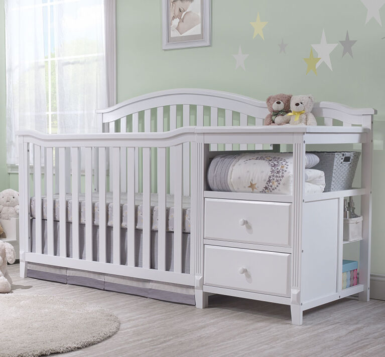 Sorelle Berkley Crib & Changer - Blanc.