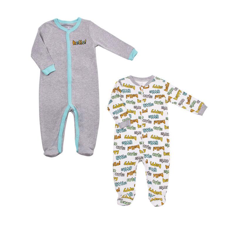 Paquet De 2 Dormeuses Koala Baby Unisexe  9-12 Mois