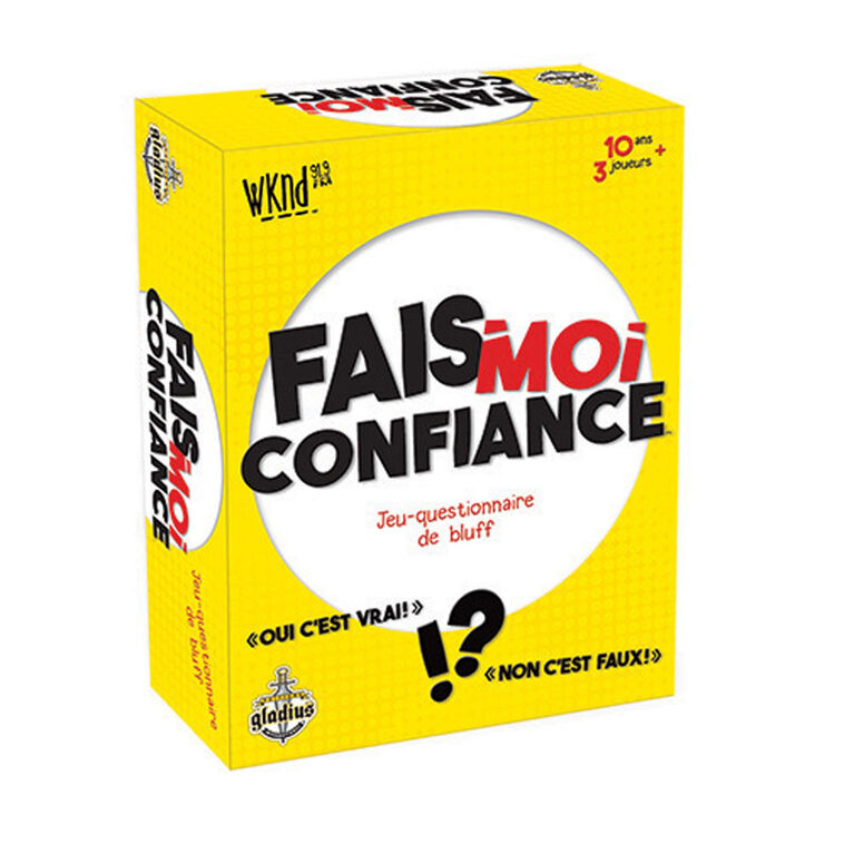 Fais-moi confiance Game - French Only