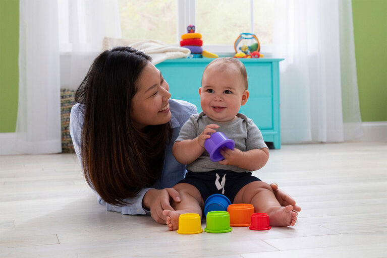 Lamaze -  Pile & Play Stacking Cups