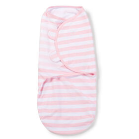 Summer Infant SwaddleMe - Couverture-sac originale - Grande - Rayures roses.