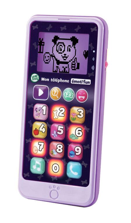 LeapFrog Mon téléphone émoti'fun Violet - Violet - Édition française