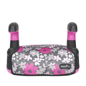 Evenflo Big Kid Amp No Back, Pink Flowers