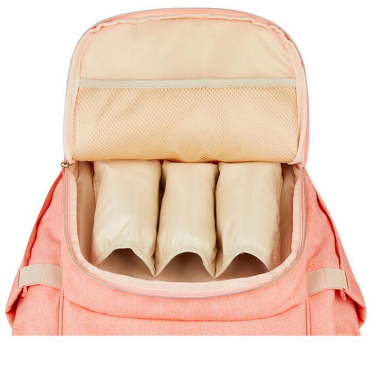Totesbabe Alma Diaper Backpack-Peach