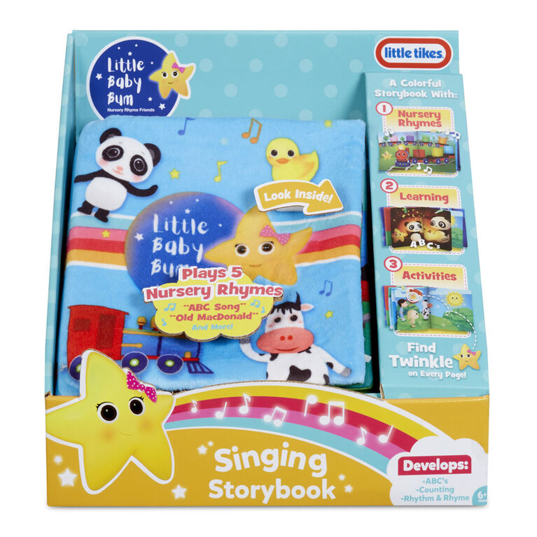 Livre souple de contes chanté et comptines Little Baby Bum officiel