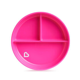 Stay Put Suction Plate - Pink