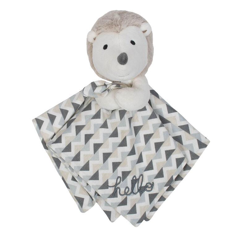 Gerber Organic Security Blanket, Hedgehog