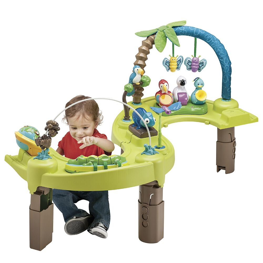 Life In The Amazon Evenflo Exersaucer Triple Fun Entertainer