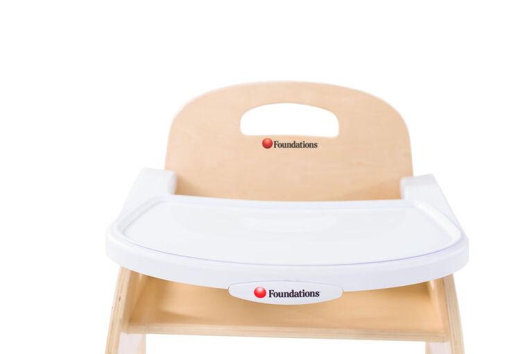 Chaise à plateau Easy ServeMC haute efficacité de Foundations à hauteur de siège de 13