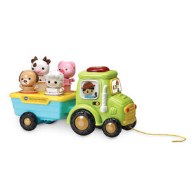 VTech Sort & Wiggle Tractor - French Edition