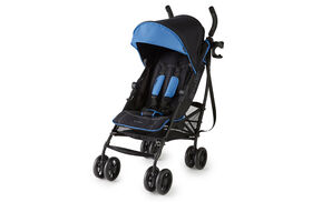 Poussette pratique par excellence 3DliteMD+ en bleu noir mat Summer Infant<br>.