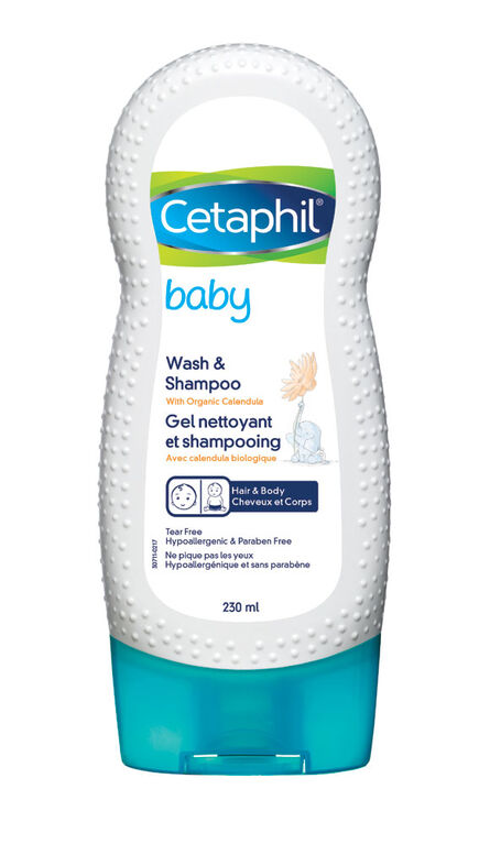 Cetaphil Baby Wash and Shampoo 230 ml