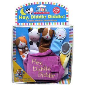 Hey Diddle Diddle Finger Puppet Book - Édition anglaise