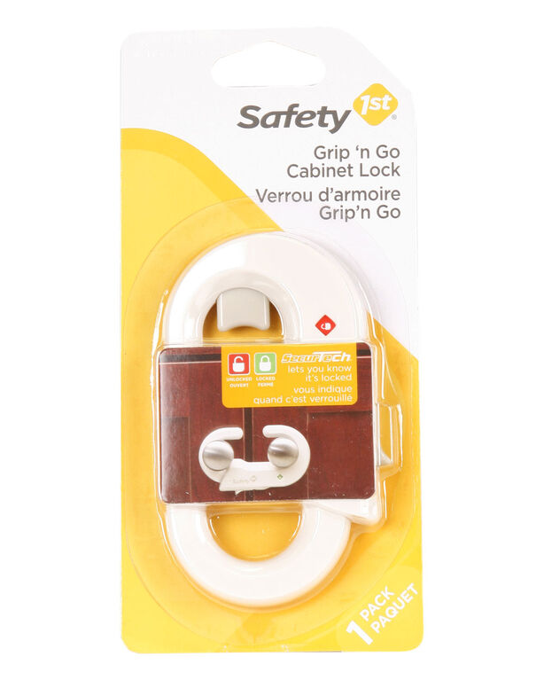 Safety 1st Grip 'n Go Cabinet Lock - 1-Pack