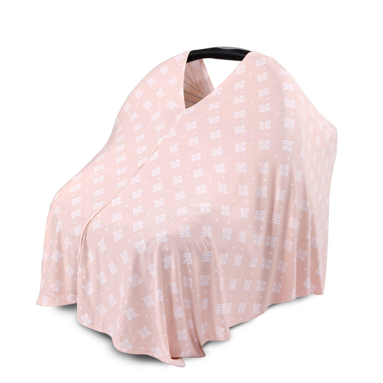 6-en-1 Poncho d'Allaitement par The Peanutshell, Impression Diamant