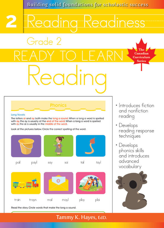 Grade 2 - Ready To Learn Reading - Édition anglaise