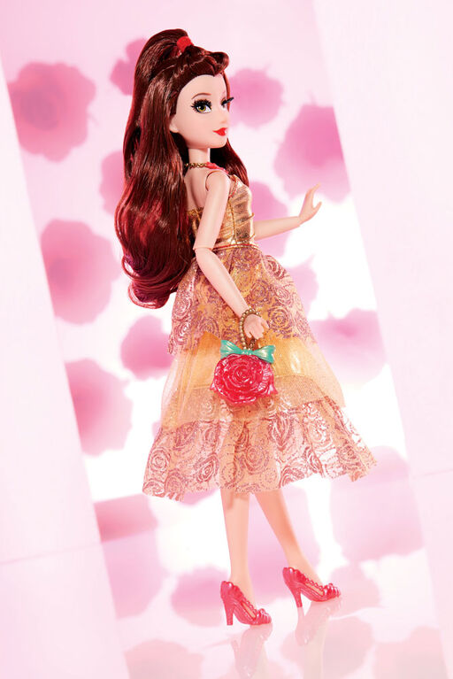 Disney Princess Style Series, Belle Doll in Contemporary Style with Purse and Shoes