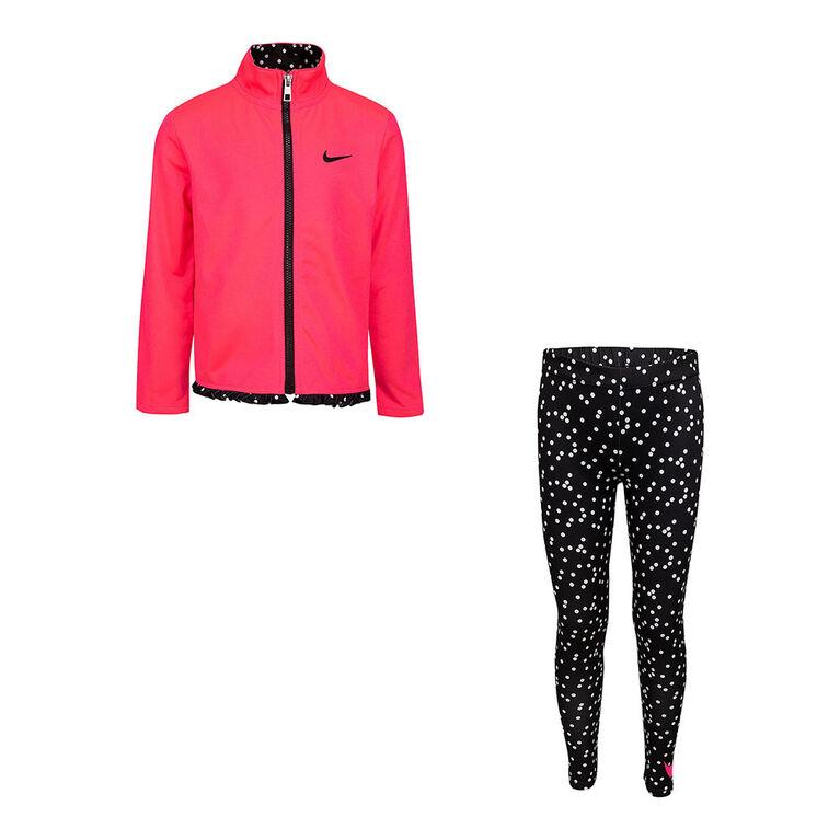 Ensemble Legging Tricot Nike - Noir/Rose, Taille 6X
