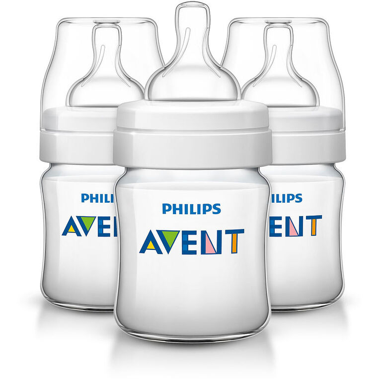Philips AVENT Anti-colic bottle 4oz - 3 Pack