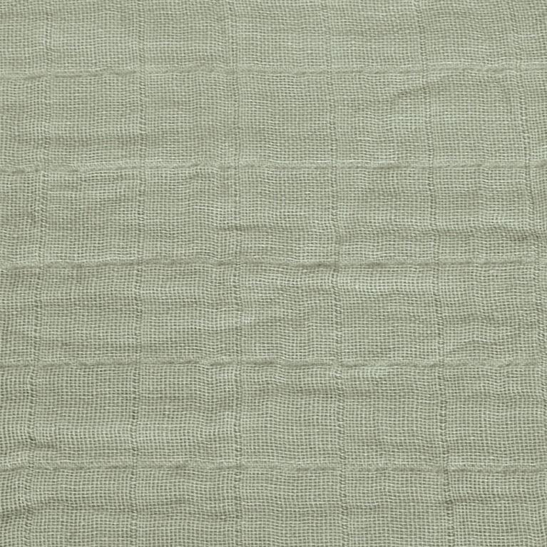 Sac De Nuit - Mousseline Coton - Kaki (0,7 Tog) 6-18 mois