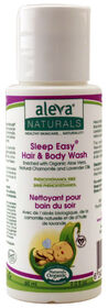 Aleva Naturals Sleep Easy Baby Wash 60ml