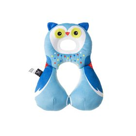 Benbat - Total Support Headrest 1-4 Bugs & Forest Owl - Blue