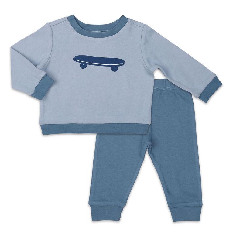 Ensemble Koala Baby chemise et pantalon, Skateboard - 12 Mois