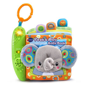 Peek & Play Baby Book - English Edition